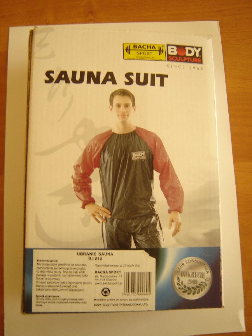 Ubranie sauna